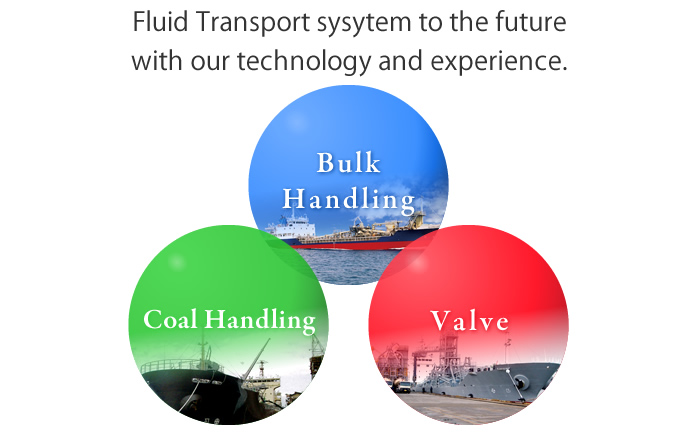 For the future of fluid transport system with our technology and expertise